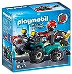 Playmobil 6879 Quad avec treuil et ba...