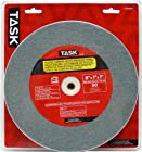 Task Tools T35945 8-Inch by 1-Inch Silicon Carbide Bench Grinding Wheel