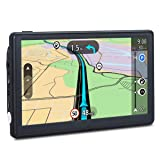 GPS Navigation for Car, 7 inches 8GB Lifetime Map Update Spoken Turn-to-Turn Navigation System for Cars, Vehicle GPS Navigator Lifetime Maps Update (Color: Model N)