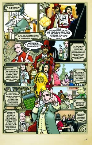 The United States Constitution: A Graphic Adaptation (A Round Table Comic)