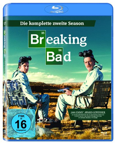 Breaking Bad - Die komplette zweite Season [3 Blu-ray]