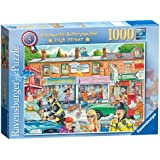 Ravensburger Best of British Knotworth Bothrynwithe High Street Puzzle (1000 Pieces)