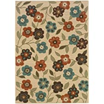 Summertime All weather Area Rug