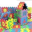 Yidea 36pcs EVA Foam Baby Children Kids Educational Toy Alphabet Number Puzzle Foam Mat