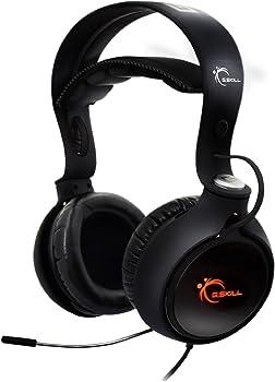 G.SKILL RIPJAWS SV710 7.1 Surround Sound USB Gaming Headphones
