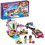 #8: LEGO Andrea's Speedboat Transporter