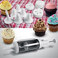 31-piece Cake Decorating Kit with 6 Decorating Icing Nozzles