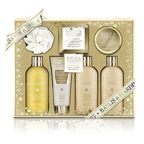 Baylis-Harding-Coffret-Cadeau-Femme-Soins-et-Bain-Mandarine-Pamplemousse-7-Produits