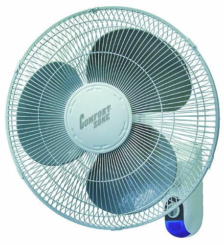 Comfort Zone Cz16Wr Wall Mount Fan front-220289