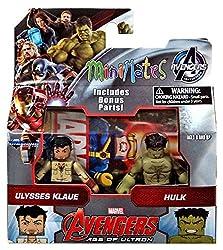 Marvel Avengers Age of Ultron Minimates Series 63 Ulysses Klaue & Hulk 2