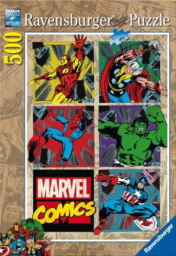 Ravensburger - 14339 9 - Avengers. Puzzle 500 Pezzi