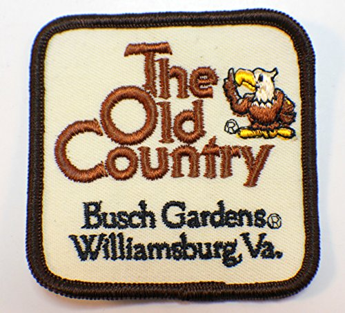 Vintage Uniform Patch The Old Country Busch Gardens Williamsburg Va