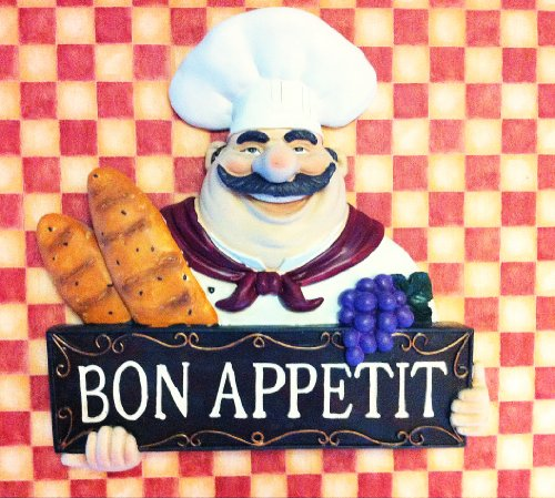 Fat Chef Wall Art Kitchen Bon Appetit Bistro Cooking (Fat Chef Kitchen Wall Art compare prices)