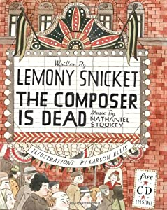 "Cover of ""The Composer Is Dead l Book & CD"