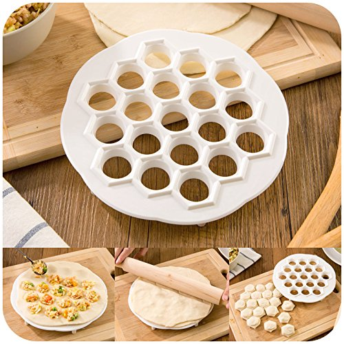 19 Holes Dumplings Maker Mold (Home Dough Sheeter compare prices)