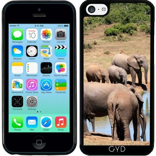 coque-silicone-pour-iphone-5c-elephant-afrique-exotique-by-wonderfuldreampicture