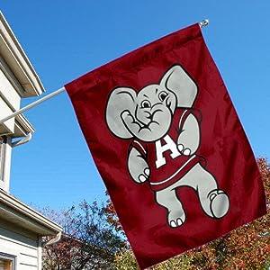 Amazon Com Alabama Big Al Mascot Logo Banner Flag