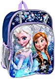 Disney Frozen Anna & Elsa Sparkle 16 Backpack