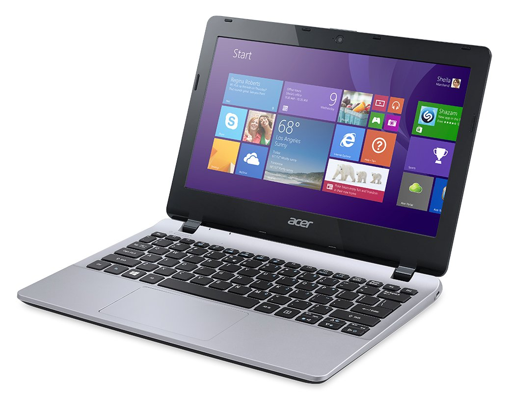 Amazon.com : Acer Aspire E3-111-C5GL 11.6-Inch Laptop (Cool Silver)