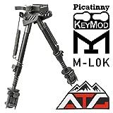 ATG PVC Patch and NcSTAR 3-in-1 KeyMod/M-LOK/Picatinny Rails Bipod