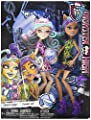 Monster High Scare and Makeup Dolls 2-Pack
