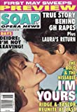 Hunter Tylo, Ronn Moss, Bold and the Beautiful, Robert Newman, Clive Robertson - April 21, 1998 Soap Opera News Magazine