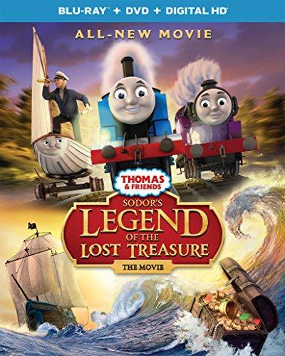 Thomas & Friends: Sodor's Legend of the Lost Treasure - The Movie (Blu-ray + DVD + DIGITAL HD)