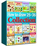 Drawing Books - How to Draw Comics Collection 25-36 (Over 330 Pages) (How to Draw Anime Collcetions) (How to Draw Collections)