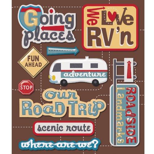 K&Company Rv Roadtrip Sticker Medley