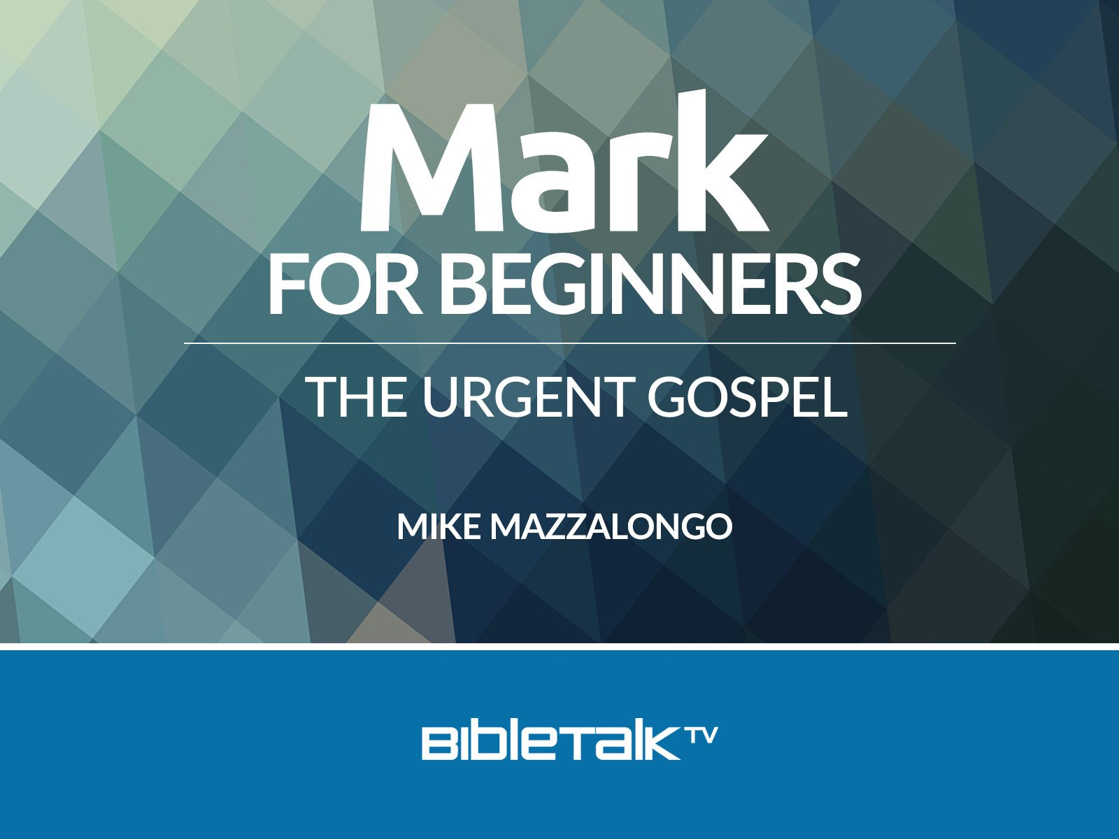 Mark for Beginners: The Urgent Gospel - Season 1