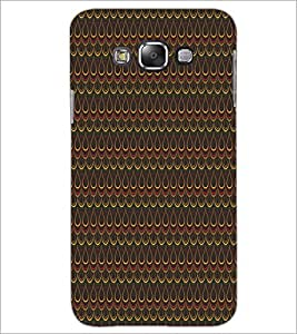PrintDhaba Pattern D-5274 Back Case Cover for SAMSUNG GALAXY A7 (Multi-Coloured)