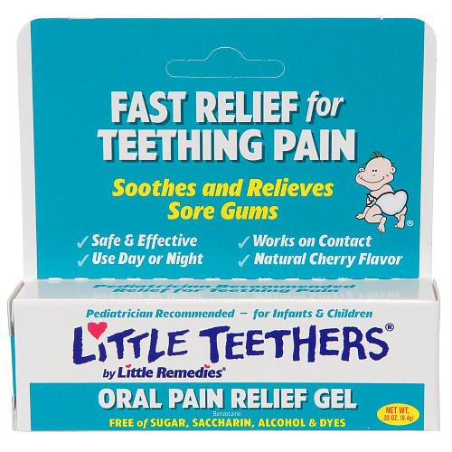 Little Teethers Oral Pain Relief Gel 0.33 Oz front-440273