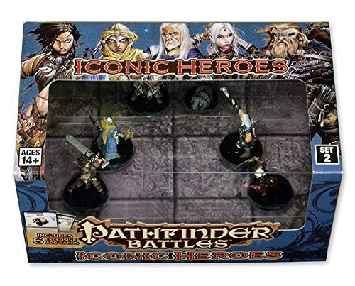 Pathfinder Battles: Iconic Heroes Set 2 by WizKids [並行輸入品]