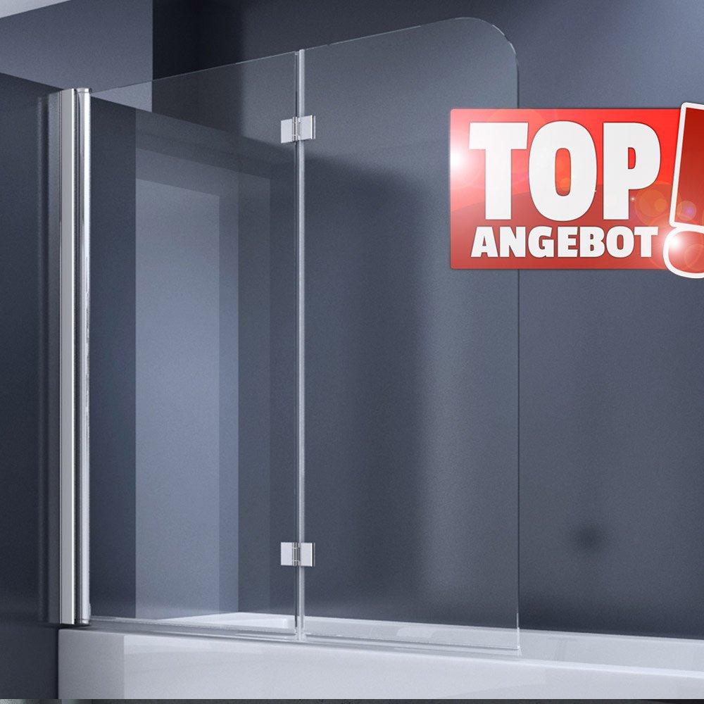 duschabtrennung duschwand f r badewanne aus glas badewannenfaltwand sehr gute duschabtrennung. Black Bedroom Furniture Sets. Home Design Ideas