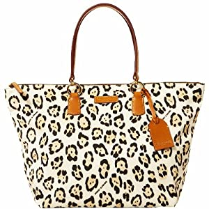 Dooney & Bourke Large Tulip Shopper, Leopard/Natural
