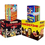 Anita Ganeri Horrible Collection 60 Books Collection Pack Set RRP: £189.80 (Horrible Geography 10 books Set, Murderous Maths 10 books Box, Horrible Histories: Blood-Curdling Box 20 Books Set, Horrible Science Bulging Box of Books 20)