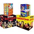 Horrible Collection 60 Books Collection Pack Set RRP: �189.80 (Horrible Geography 10 books Set, Murderous Maths 10 books Box, Horrible Histories: Blood-Curdling Box 20 Books Set, Horrible Science Bulging Box of Books 20)