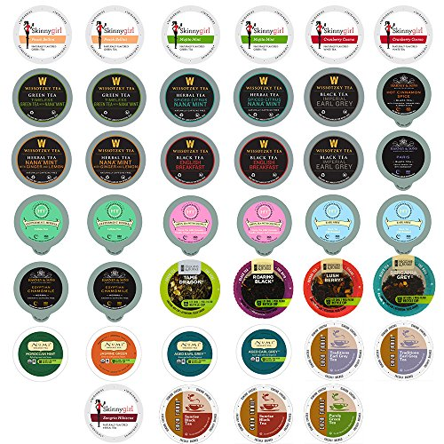 40-count TEA Single Serve Cups for Keurig K Cup Brewers Variety Pack Sampler (Single Tea Brewer compare prices)