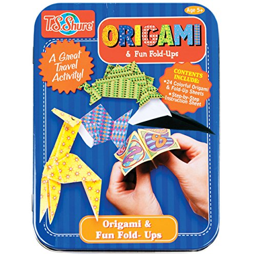 T.S. Shure Origami & Fun Fold-Ups Activity Mini Tin