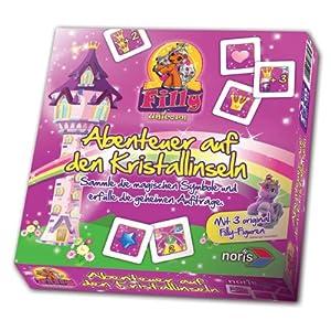 Schauen Sie sich Kundenbewertung für Noris-Spiele 606017358 - Filly Unicorn - Abenteuer auf den Kristallinseln