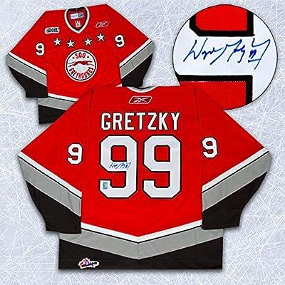 Wayne Gretzky Autographed Sault Ste.Marie Greyhounds Jersey
