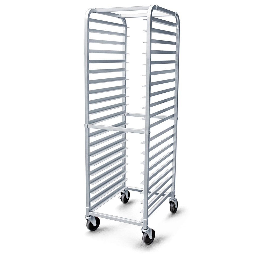 New Star 36527 Aluminum 20 Tier Commercial Kitchen Bun Pan