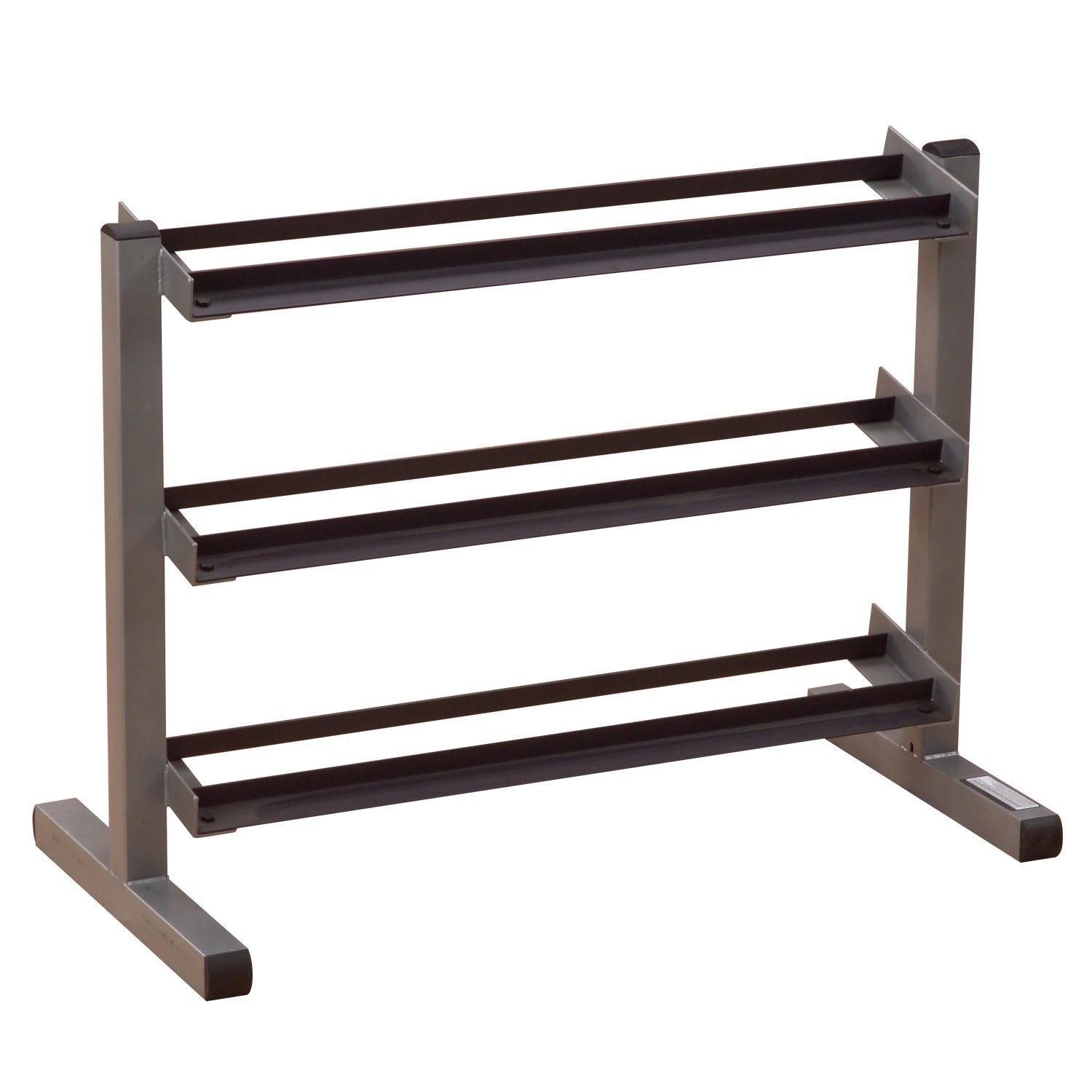Body Solid 3-Tier Horizontal Dumbbell Rack