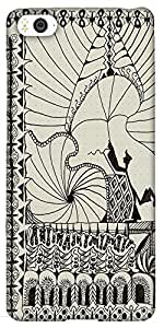 Snoogg Abstract Play Card Vintage Designer Protective Back Case Cover For Xia...