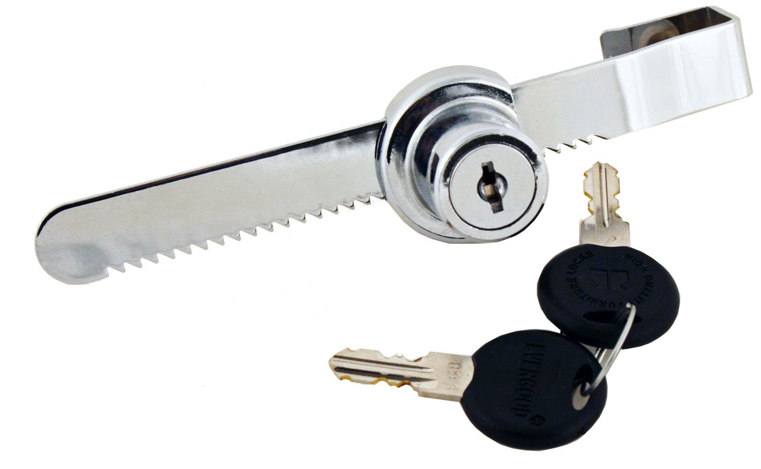 sliding door lock key security products ratchet chrome