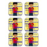 MeSleep Love Brother Wooden Coaster-Set Of 6