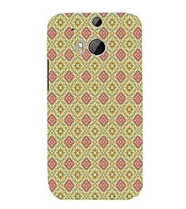 EPICCASE lovely diagram Mobile Back Case Cover For HTC One M8 (Designer Case)