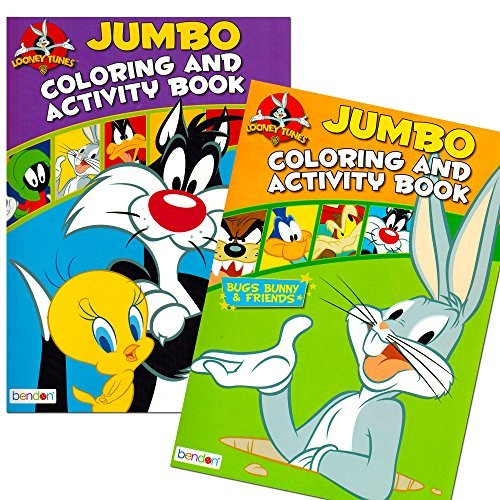 Looney Tunes Jumbo Coloring & Activity Book Set Of 2 Books Price in ...