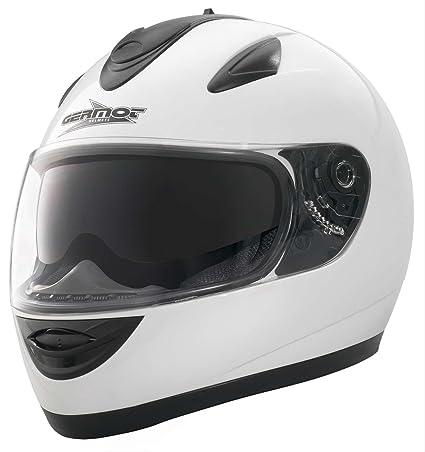 GERMOT gM 206 casque intégral-blanc