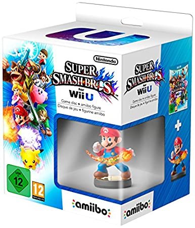 Super Smash Bros Plus amiibo Mario Character (Nintendo Wii U)